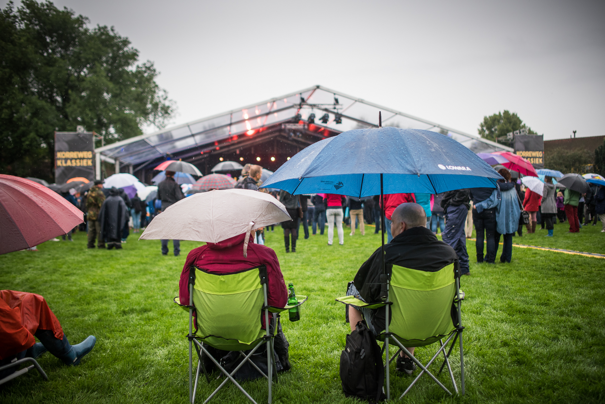 Korreweg Klassiek: regenachtig maar zonnig in sfeer